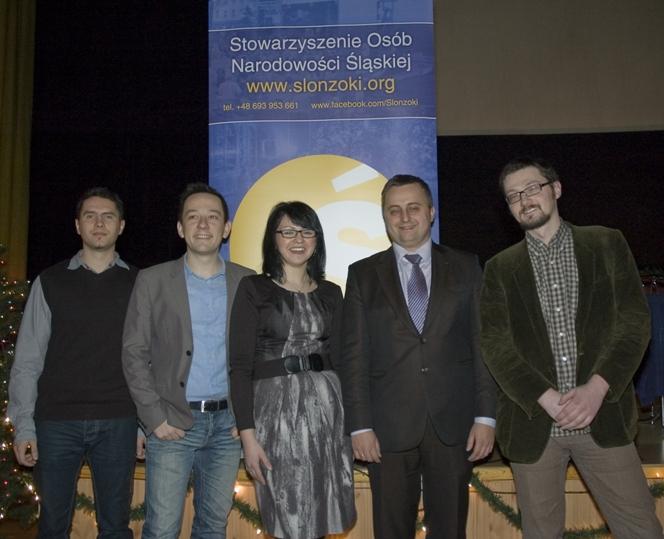 Zarząd SONŚ: Roman Knopp, Wojtek Glensk, Justyna Nikodem, Pejter Dlugosz, Rafał Szyma